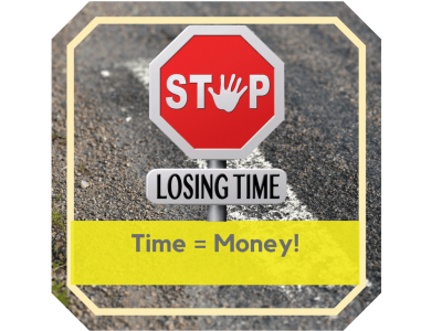 Time Equals money in your small business